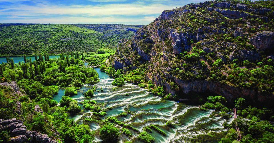 Krka Waterfalls – National park